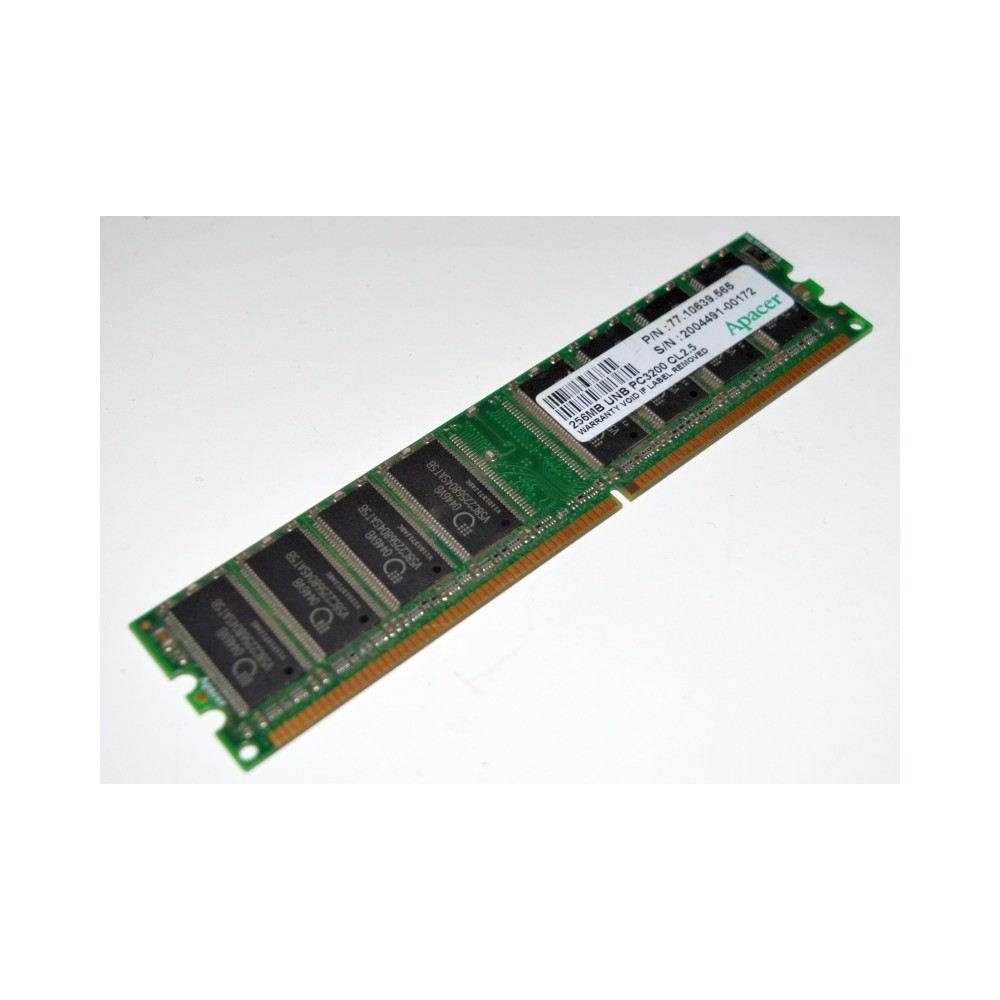 RAM 256MB PC3200 333 MHZ DDR CL2.5