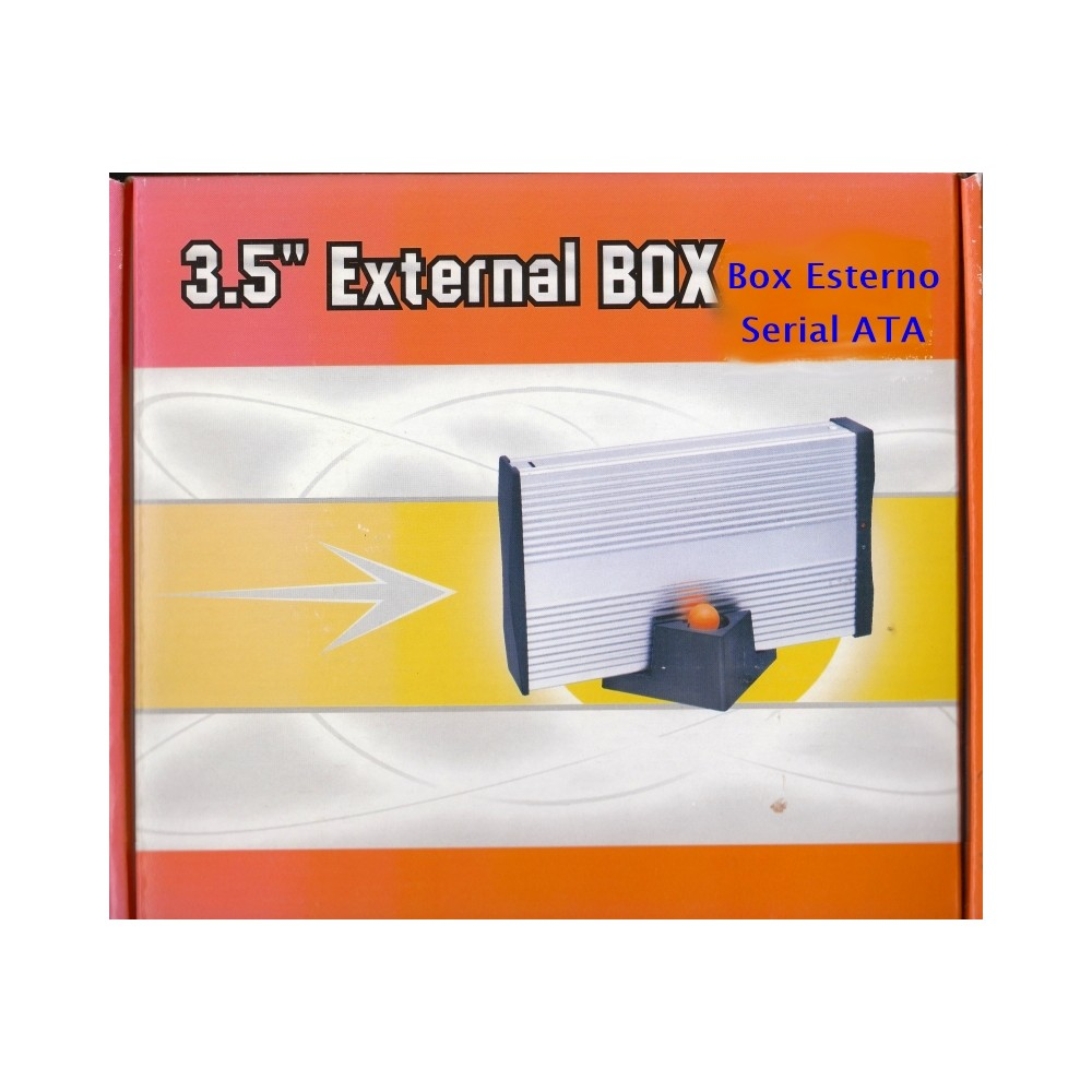 BOX ESTERNO X HD 3,5 SATA