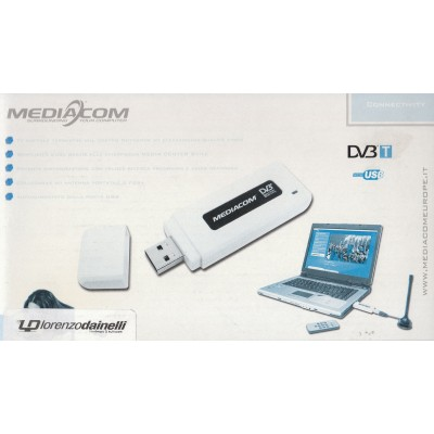 MEDIACOM CHIAV.USB DVBT-TV DIGITALE