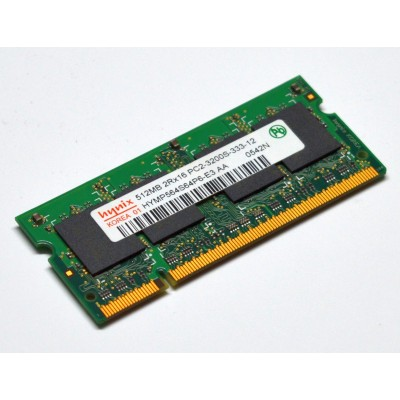 SODIMM 512MB DDR2 PC3200