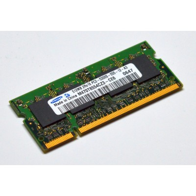 SODIMM 512MB DDR2 PC5300